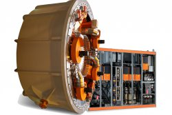 The Switch Drive™:Direct drive permanent magnet generator and full-power converter (photo: Elena Tiihonen)