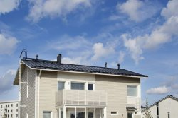 Ruukki Classic Solar Thermal Roof. © Rautaruukki  Oyj (photo: Industrial News Service)