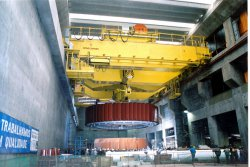 Konecranes provides lifting solutions for all types of power plants.© Konecranes (photo: Industrial News Service)