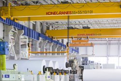 Konecranes develops paper mill cranes to help boost long-term reliability and minimize ownership costs.© Konecranes (photo: )