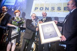 <p>Ponsse wins Swedish Steel Prize 2015. ©SSAB</p> (photo: )