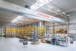<p>Increased accuracy in load control thanks to stepless hoisting speed. © Konecranes</p>