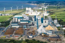 <p>Aerial photos of Workington Mill</p> (photo: Photographer: Per Trane)