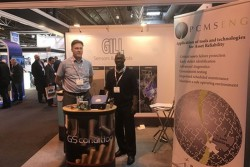<p>Andy Chater from PCMS Engineering and Trevor Pearson from Gill Sensors &amp; Controls at Maintec 2017</p>