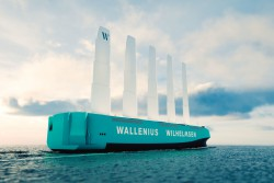<p><em>Orcelle Wind - the world's first full-scale RoRo ship</em></p>