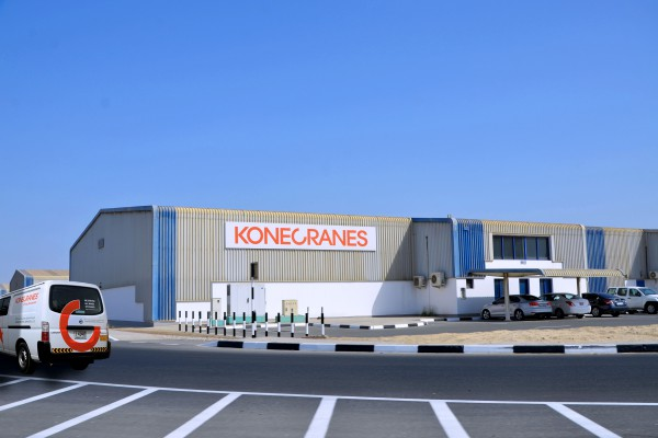<p>The Middle East Parts Distribution Center in Dubai, UAE. © Konecranes</p>