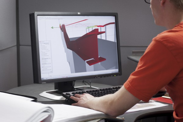 <p>3D visualization of the condition of the rail © Konecranes</p>