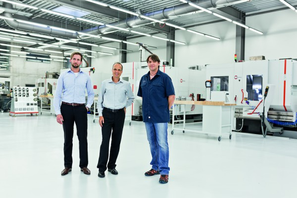 <p><strong>Figure 3</strong> shows from left to right: Sascha Riesinger, sales manager, Dipl.-Betriebswirt (FH) Jürgen Stickel, managing director, and Bernd Zepf, production manager, all from Fetzer Medical GmbH & Co. KG in Tuttlingen (0963).</p>