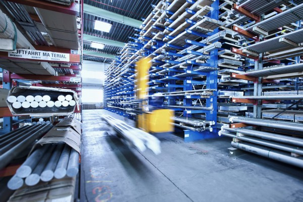 <p><strong>Caption: Integrated logistics in materials distribution</strong></p>