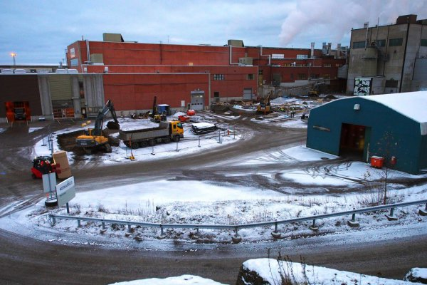 <p>The construction work of the Flying Eagle investment project has started at Kotkamills site in Kotka, Finland. © Kotkamills<br /><br /></p>