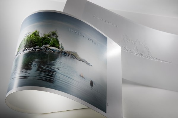"<p>""Our main task was to emboss the details in the photos. In doing so, it's important not to change or distort the basic concept behind the image,"" says Alex Guglielmi of Iggesund Paperboard. © Iggesund<br /><br /></p>"