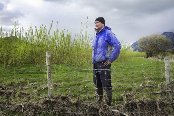 <p>Steven Clarke, farmer in Keswik, UK, chose to diversify and find an alternative revenue stream for his farm by joining Iggesund Paperboard's Grow Your Income programme. © Iggesund</p>