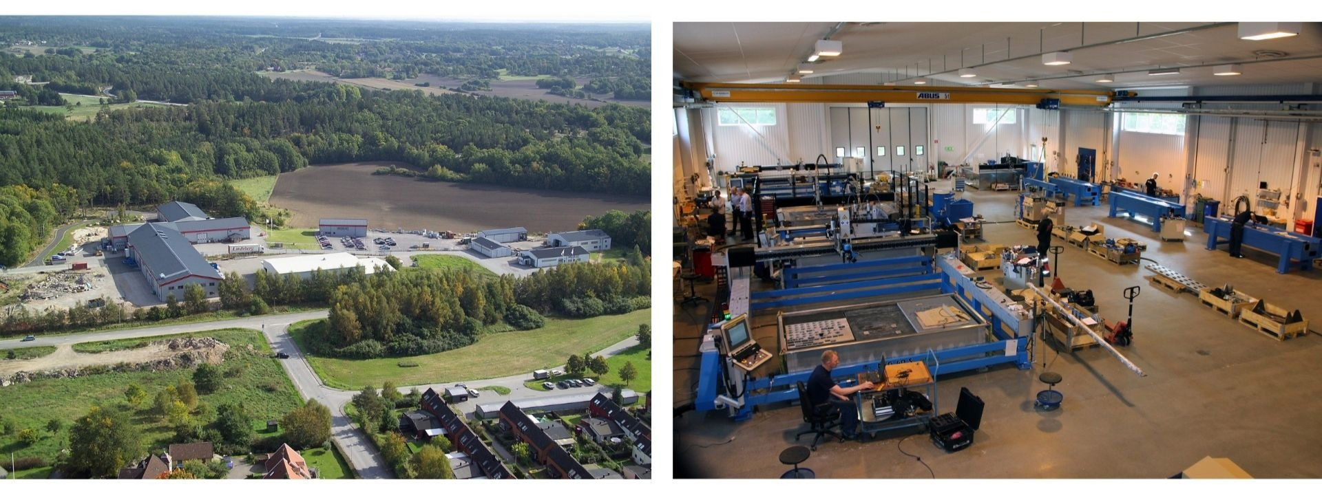 Water Jet Sweden HQ Ronneby & production plant