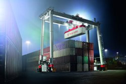 Konecranes' new BOXHUNTER will interest container terminal operators in different markets.© Konecranes (photo: Industrial News Service)