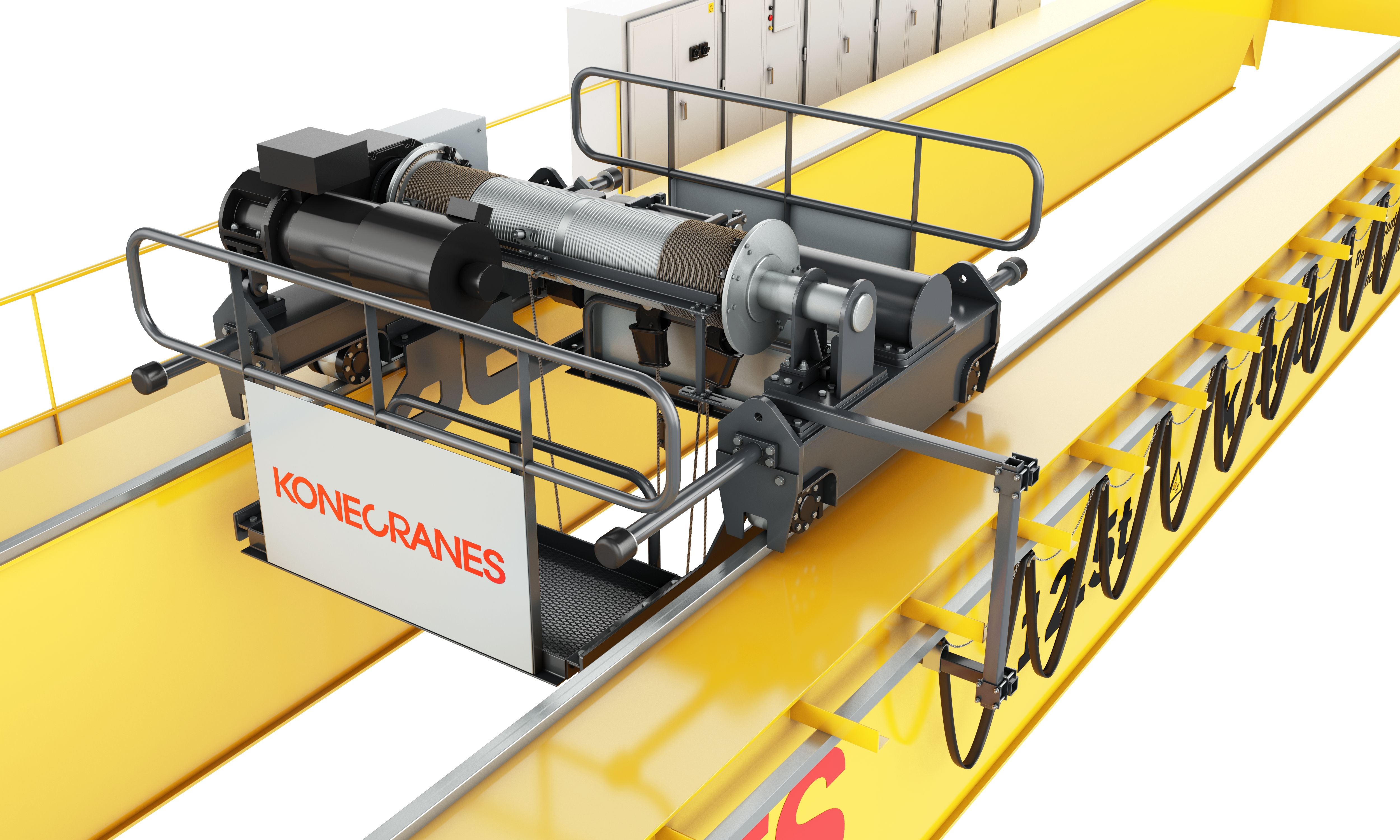 Kone Crane Parts Wiring Diagram Konecranes Introduces A New Heavy Duty Overhead To The Middle 5000x3000